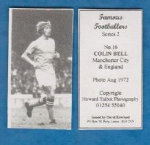 Manchester City Colin Bell England 16